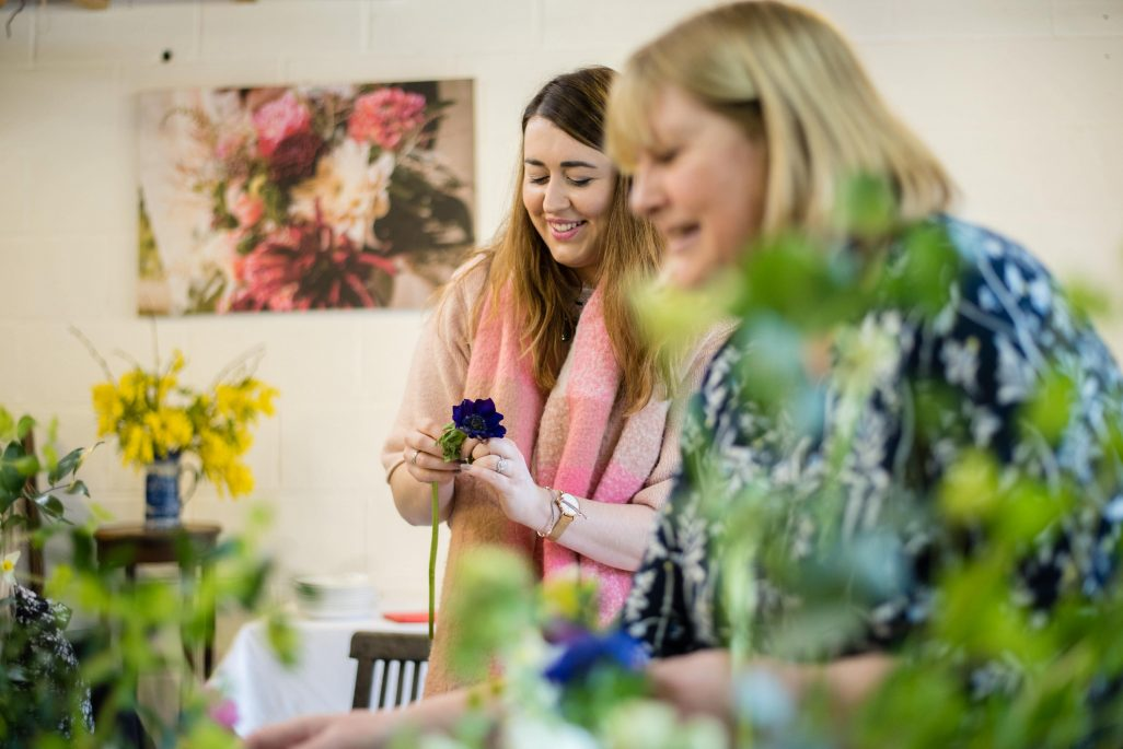 Hen Party Workshop Floristry Flower Crown