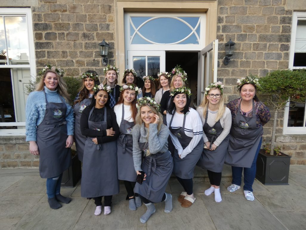 Hen Party Flower Crown Workshop Bradley Skipton